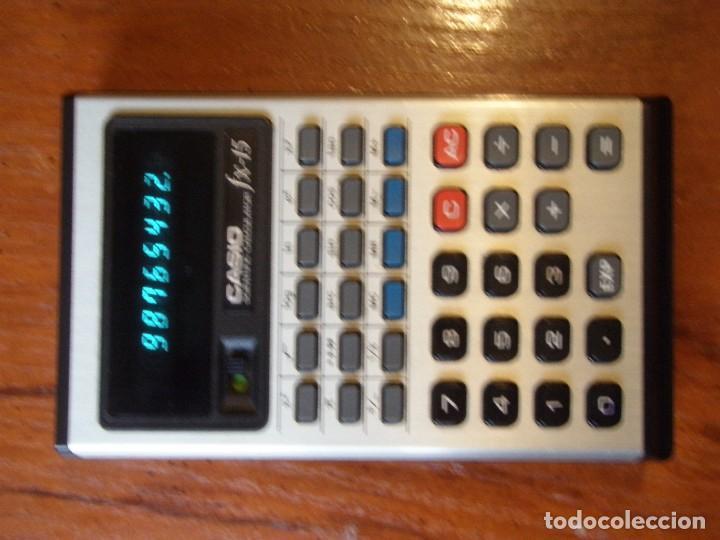 CALCULADORA CASIO FX-15 FX15 FUNCIONANDO (Vintage - Varios)