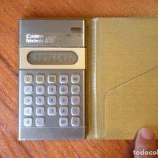 Vintage: CALCULADORA CANON PALMTRONIC LC-1 LC1 FUNCIONANDO CON FUNDA. Lote 126894875