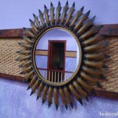 Vintage: ESPEJO SOL FORJA. Lote 126897227