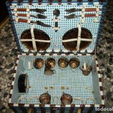 Vintage: CESTA PIC-NIC AÑOS 70 50X35 BUEN ESTADO . Lote 127143683