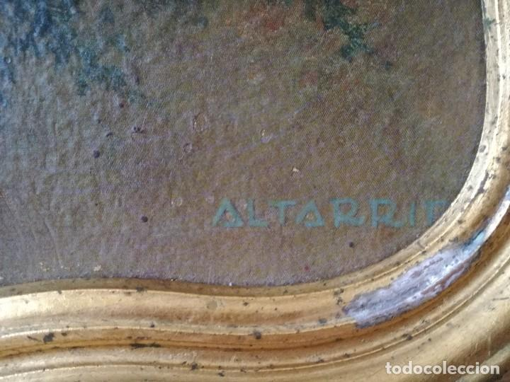 Vintage: Antiguo y precioso cuadro del pintor altarriba. Vintage años 70. - Foto 5 - 128184715