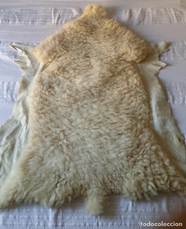 Vintage: Piel / cuero oveja - alfombra decoración - Foto 2 - 128275407