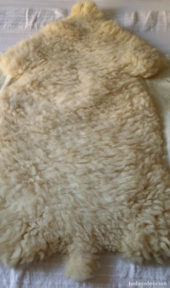 Vintage: Piel / cuero oveja - alfombra decoración - Foto 3 - 128275407