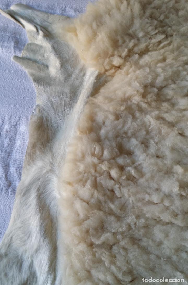 Vintage: Piel / cuero oveja - alfombra decoración - Foto 4 - 128275407