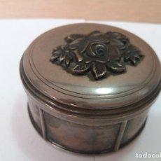Vintage: CAJITA ESTILO VINTAGE DE BRONCE PLATEADO. Lote 128544319