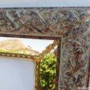 Vintage: MARCO MADERA ORNAMENTADO CON ESPEJO. GRAN TAMAÑO.. Lote 128876839