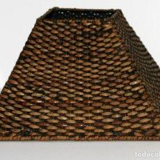 Vintage: PANTALLA DE MIMBRE . Lote 129261491
