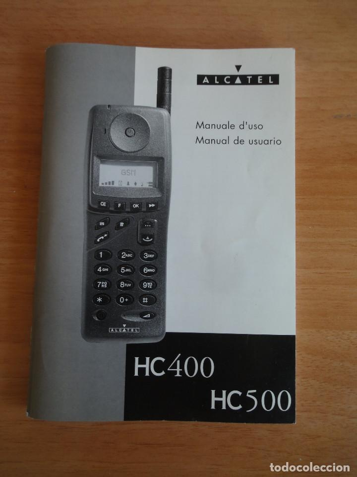 Manual de usuario Móvil Alcatel HC 500 (1995) Italiano y Español