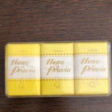 Vintage: CAJITA JABÓN JABONES HENO DE PRAVIA . Lote 130084583