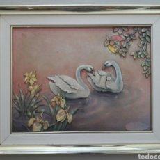 Vintage: LAMINA EN 3D ENMARCADA DE EPOCA VINTAGE.. Lote 130110159