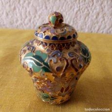 Vintage: JARRON TIBOR CHINA - PEANA BASE - 6.5 X 2 CMS. Lote 130406666