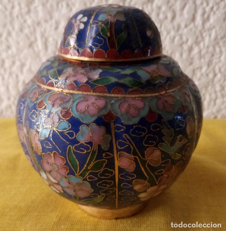 Vintage: JARRON TIBOR CHINA - PEANA BASE - 10 x 3.5 CMS - Foto 2 - 130407198