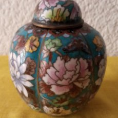 Vintage: JARRON TIBOR CHINA - PEANA BASE - 12.5 X 3.5 CMS. Lote 130407706