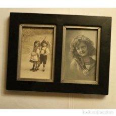 Vintage: ANTIGUAS POSTALES ENMARCADAS. Lote 130425158