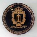 Vintage: PLATO ESCUDO DE CIUDAD RODRIGO, ORO DE 1ª LEY, 24 CM DE DIÁMETRO. Lote 130794480