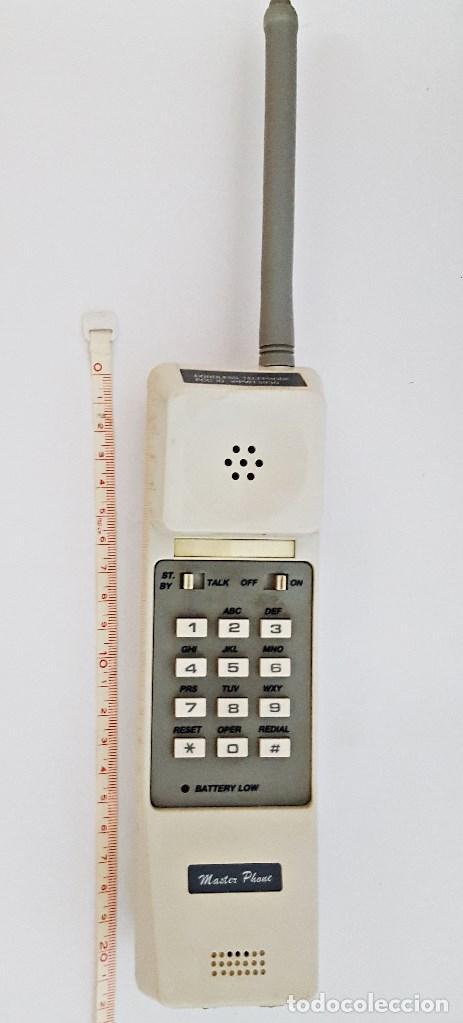 Vintage: Antiguo telefono inalambrico Master Phone WT-3930 - Foto 6 - 130801504
