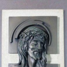 Vintage: CUADRO DE CRISTO EN RELIEVE. Lote 131085336