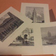 Vintage: LAMINAS DE GRABADOS DE SEVILLA. Lote 131135351
