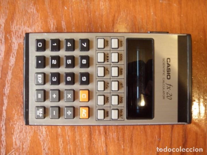 CALCULADORA CASIO FX-20 FX20 FUNCIOANDO PERFECTA (Vintage - Varios)