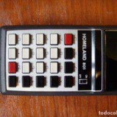 Vintage: CALCULADORA HOMELAND 801 FUNCIONANDO PERFECTA. Lote 131194616
