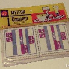 Vintage: 20 POSAVASOS METEOR MADE IN ENGLAND. Lote 131548210