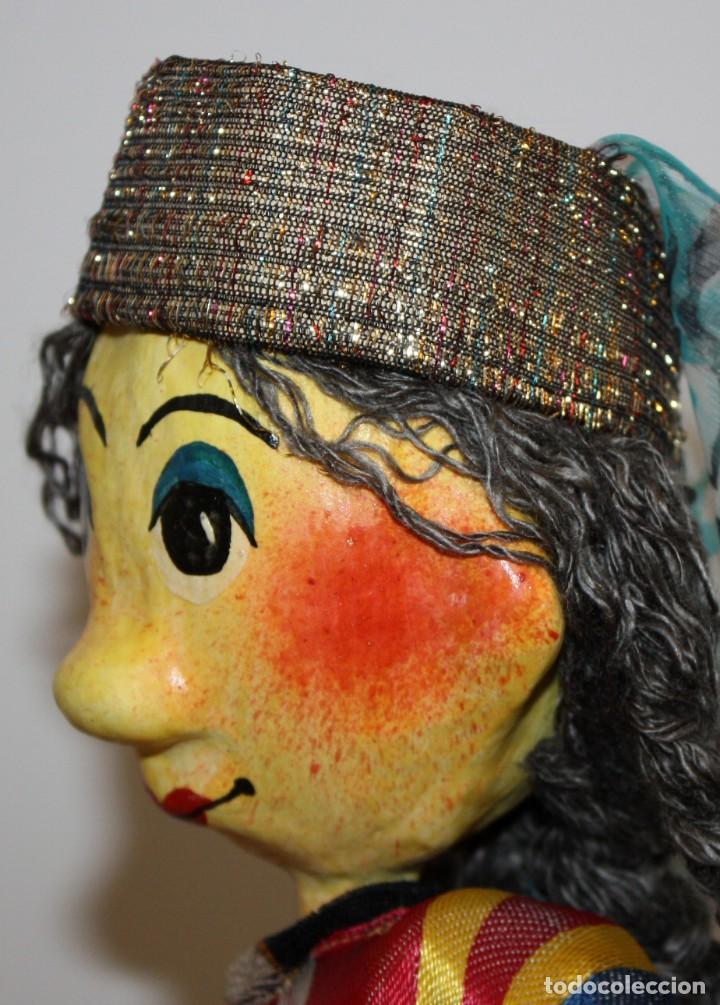 Vintage: bonita pareja de marionetas artesanas de jiva (uzbekistán) - Foto 7 - 131979166