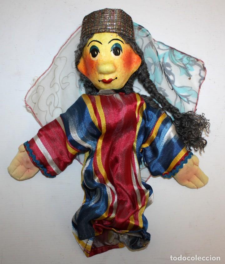 Vintage: bonita pareja de marionetas artesanas de jiva (uzbekistán) - Foto 2 - 131979166