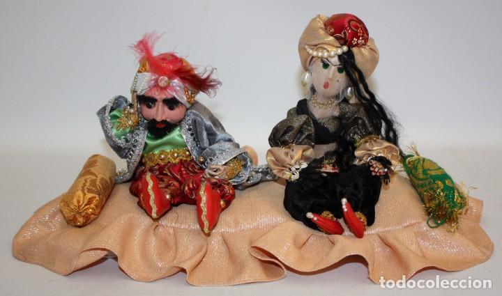 FAKIR Y BAILARINA DE SAMARKANDA (UZBEKISTAN). (Vintage - Varios)