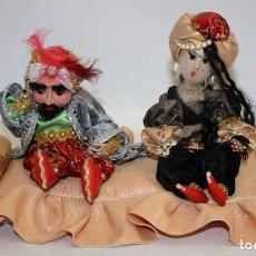 Vintage: FAKIR Y BAILARINA DE SAMARKANDA (UZBEKISTAN).. Lote 131987702