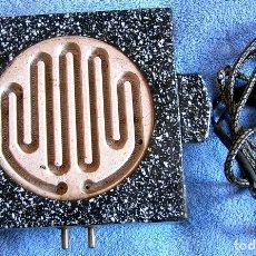 Vintage: INFERNILLO ELECTRICO ESMALTADO ( FUNCIONA ).. Lote 131491318