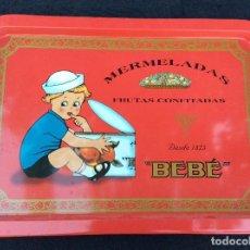 Vintage: BANDEJA MERMELADAS BEBÉ VINTAGE. Lote 132240298