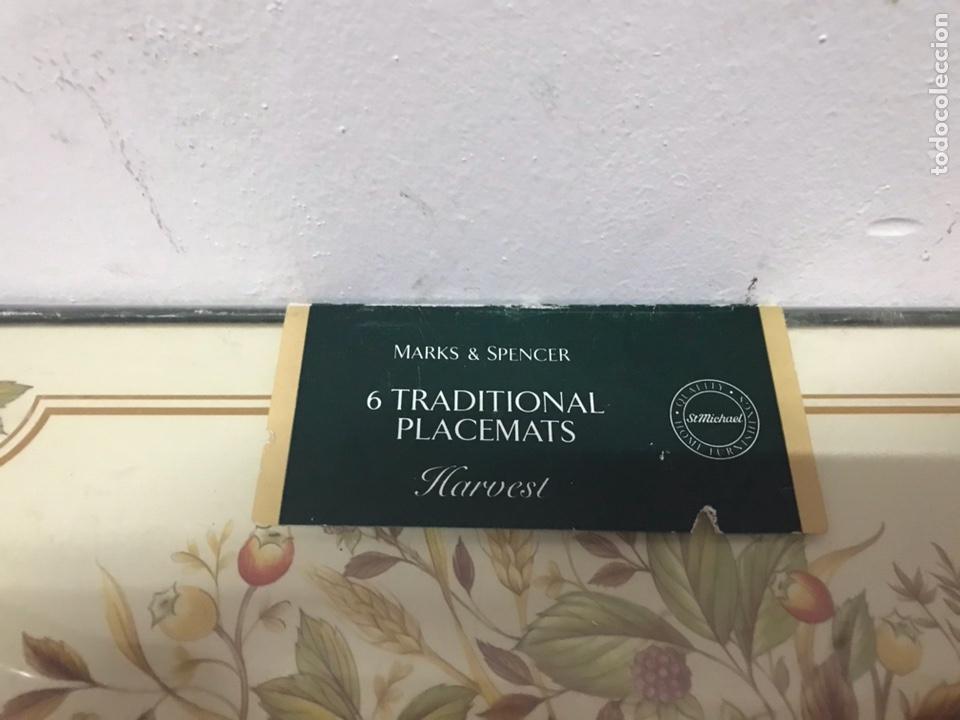 Vintage: 6 tradicionales placemats - Foto 2 - 132250198