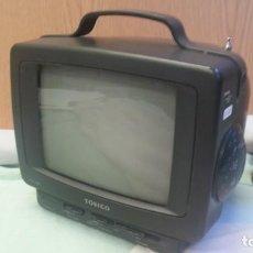 Vintage: TELEVISOR, MINI-TELEVISIÓN. MARCA TOBICO. VIEJO APARATO.. Lote 133214986