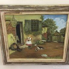 Vintage: CUADRO PRECIOSO VINTAGE. Lote 133293791