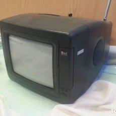 Vintage: TELEVISOR, MINI-TELEVISIÓN. MARCA EMPEROR. VIEJO APARATO. Lote 133299458