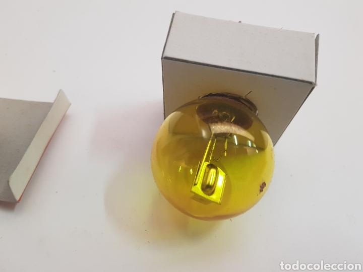 Vintage: antigua caja de bombillas marca haye - amarillo - car107 - Foto 2 - 163816945