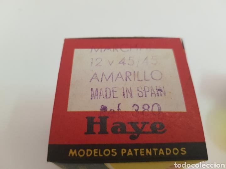 Vintage: antigua caja de bombillas marca haye - amarillo - car107 - Foto 3 - 163816945