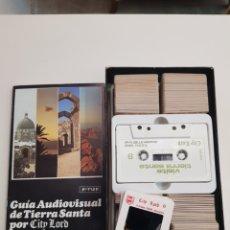 Vintage: GUIA AUDIOVISUAL DE TIERRA SANTA - CAR106. Lote 133677102