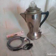 Vintage: CAFETERA ELÉCTRICA CRESPO. Lote 134096014