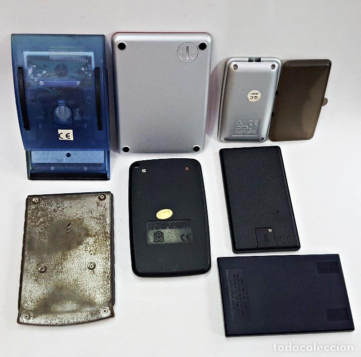Vintage: Lote de 7 calculadoras surtidas. - Foto 3 - 134754130