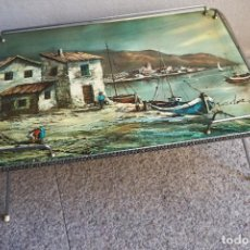 Vintage: BANDEJA ANTIGUA VINTAGE PATAS AÑOS 50 1950 MID CENTURY. Lote 135038030