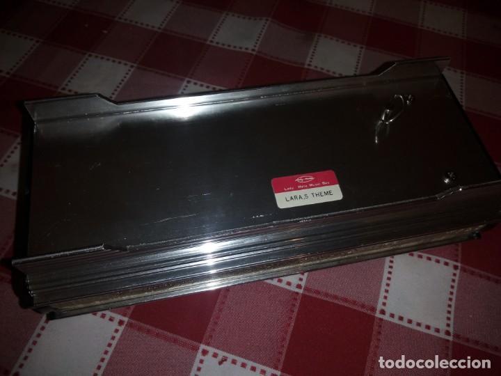 Vintage: caja musical joyero, lady mate music box,música lara,stheme.metalica motivo oriental. - Foto 8 - 135161254