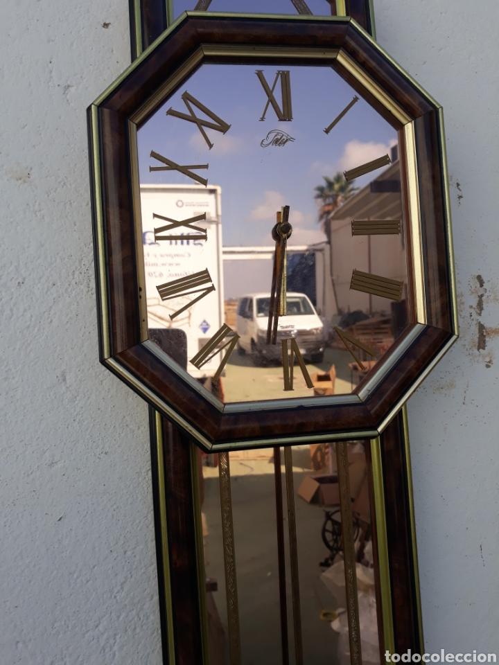 Vintage: Reloj de pared a pilas - Foto 2 - 135205354