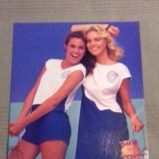 Vintage: CARTEL PUBLICITARIO PROPAGANDA MODA FEMENINA NERVA. AÑOS 70-80. CARTÓN. MEDIDAS: 33 X 24 CM.. Lote 135624546