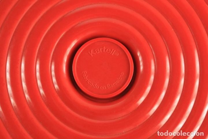 Vintage: cenicero 4641 Kartell diseño Anna Castelli rojo melamina pop space age Italia 70s - Foto 3 - 135751730