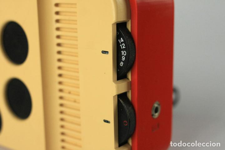 Vintage: radio transistor AM Inter blanco rojo vintage retro space age españa 70's - Foto 3 - 135760650