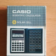Vintage: CALCULADORA CASIO SCIENTIFIC CALCULATOR FX-450 SOLAR CELL - AÑOS 80 VINTAGE COMPLETA. Lote 136224089