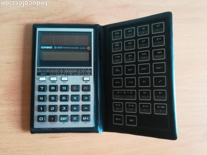 Vintage: Calculadora Casio Scientific Calculator FX-450 Solar Cell - años 80 vintage Completa - Foto 10 - 136224089