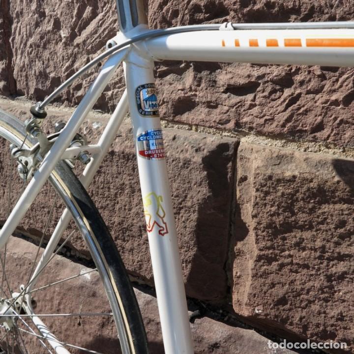 Vintage: Muy buen estado. Vintage Peugeot bicicleta de carretera. 1970 - 1980. (BRD) - Foto 6 - 136266078