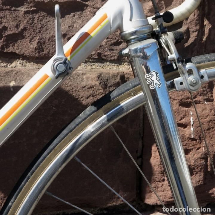 Vintage: Muy buen estado. Vintage Peugeot bicicleta de carretera. 1970 - 1980. (BRD) - Foto 7 - 136266078